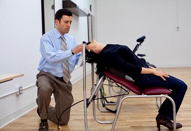 Chiropractic Baton Rouge LA Gambale Chair