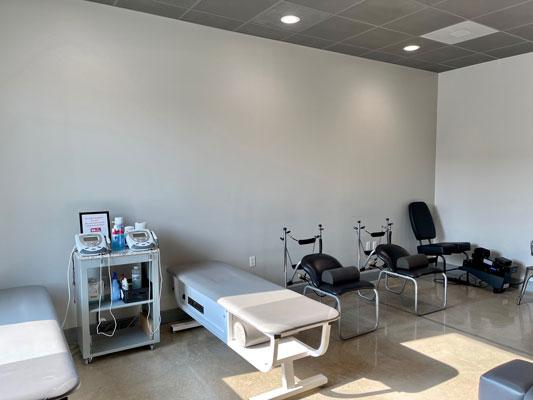 Chiropractic Baton Rouge LA Therapy Room